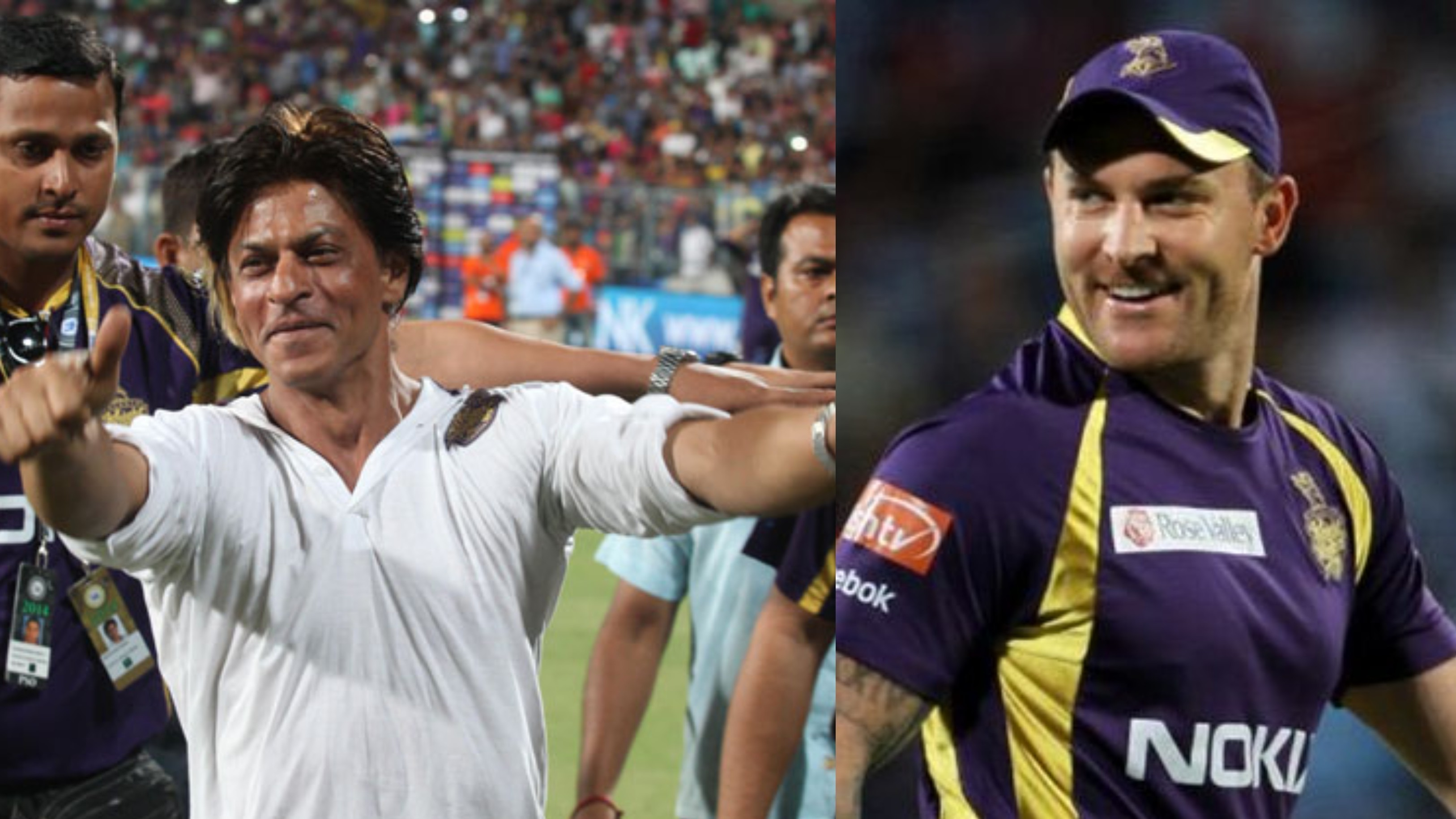 Shah Rukh Khan gives an epic response to Brendon McCullum's belated birthday wish