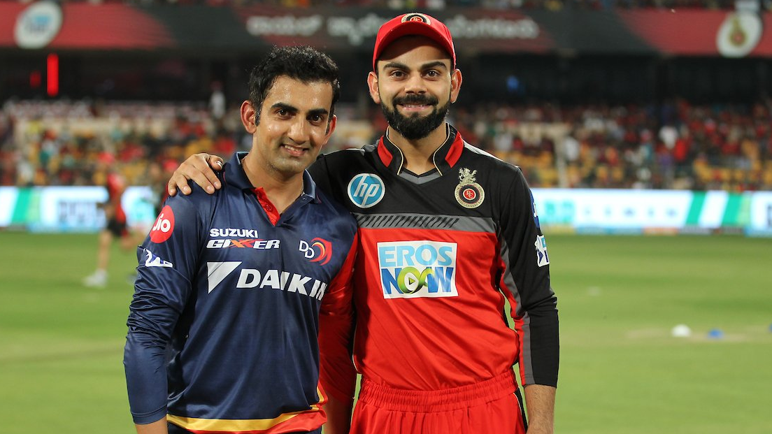 Delhi duo of Virat Kohli and Gautam Gambhir pose for a photo; Twitterati turn it into funny memes