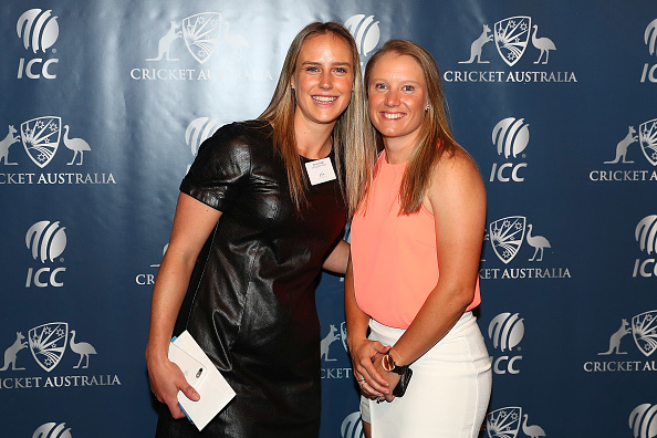 Ellyse Perry Alyssa Healy. (Getty)
