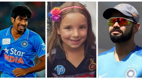 Virat Kohli ignores little girl waiting to meet him; Jasprit Bumrah steps in to make her day