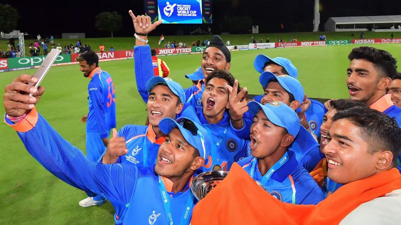 Watch: Senior India cricketers hailing the Boys in Blue for their U-19 World Cup triumph