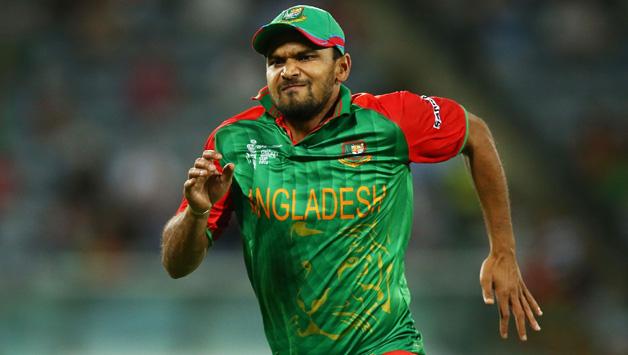 बांग्लादेश के कप्तान मशर्रफ मोर्तजा ओर कुसल मेंडिस पर चिल्लाने के लिए लगा जुर्माना