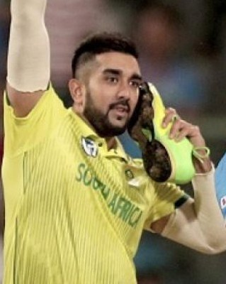 Tabraiz Shamsi gives explanation over his shoe celebration in the third T20I | Twitter