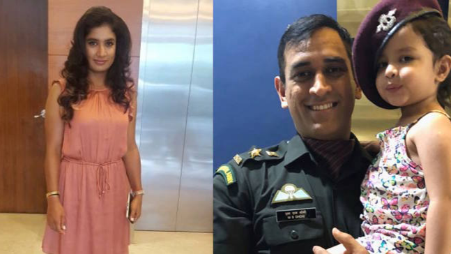 Mithali Raj conveys her congratulatory message to MS Dhoni for being honoured with the prestigious Padma Bhushan award