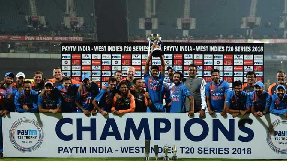 IND v WI 2018: COC Team India Players' Rating for T20I series