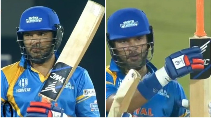 RSWS 2021: Twitterati in nostalgia after Yuvraj Singh hits four consecutive sixes