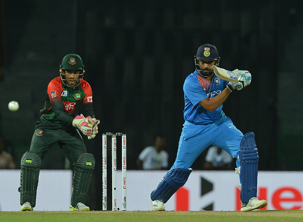 Rohit Sharma took the Bangladesh bowlers to the cleaners | Getty