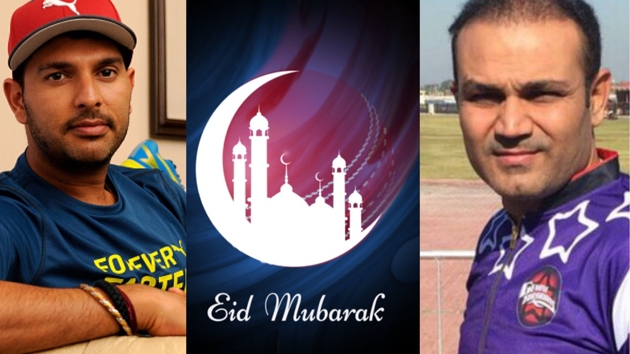 Indian cricket fraternity wishes everyone Eid Mubarak