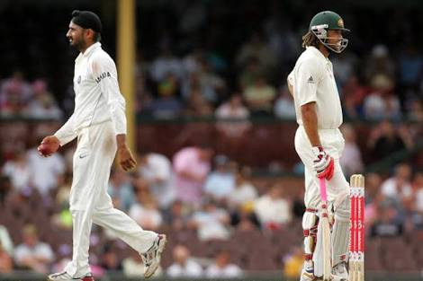 'Monkey-gate' between Harbhajan Singh and Andrew Symonds | Getty Images