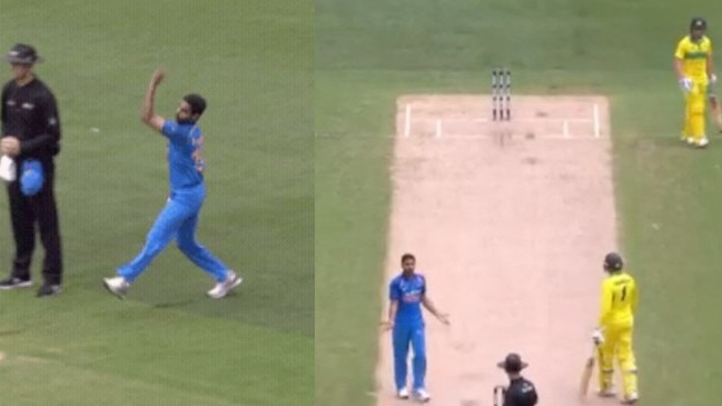 """I had no idea what to do,"" Aaron Finch on Bhuvneshwar Kumar's delivery from behind the umpire"