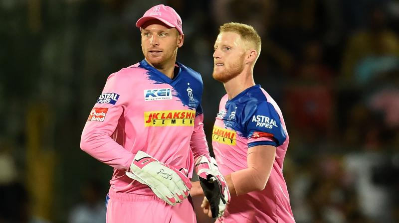 Jos Buttler and Ben Stokes for Rajasthan Royals in IPL | Twitter