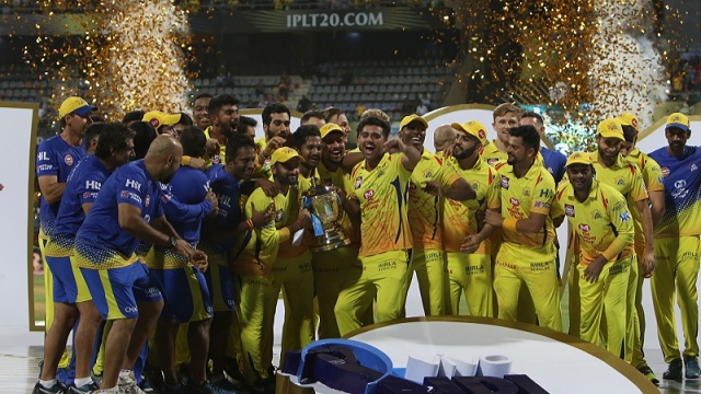 IPL 2018: CSK celebrate their third IPL title win on Twitter; Dhoni posts pic with Ziva and Sakshi