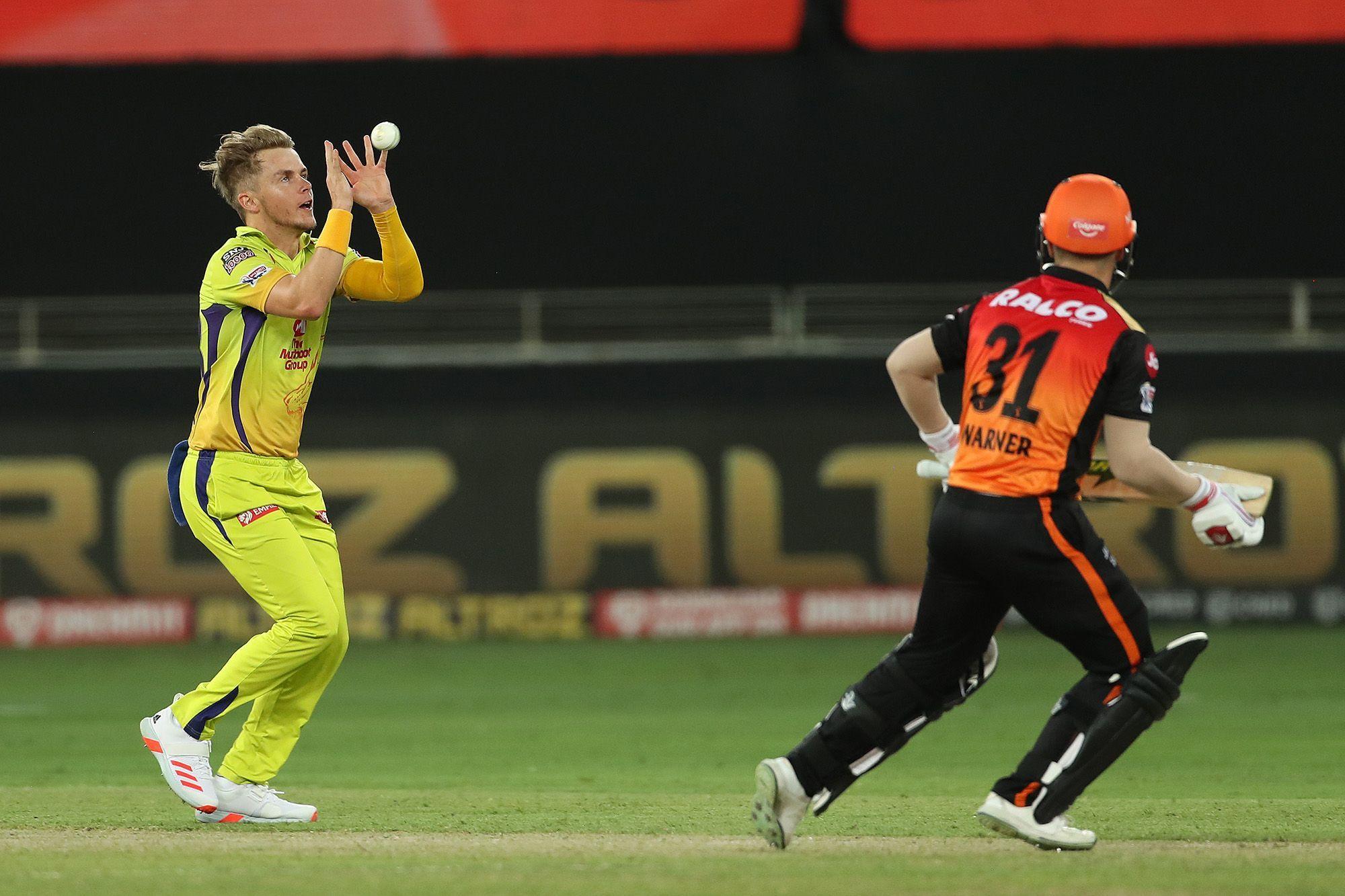 Sam Curran dismissing David Warner | BCCI/IPL