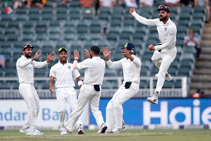 SA v IND 2018: 3rd Test, Day 4 – Mohd Shami's 5/28 routs SA as India wins the Test by 63 runs
