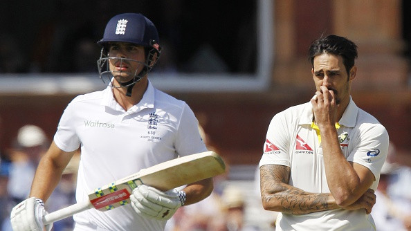 Alastair Cook was a champion player for England, tributes Mitchell Johnson