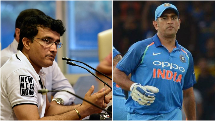 Sourav Ganguly was expecting MS Dhoni's exclusion from T20I squad, says he is not surprised