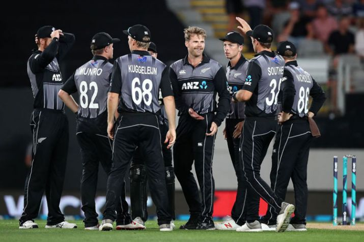 New Zealand celebrates win over Lanka in Auckland | Getty Images