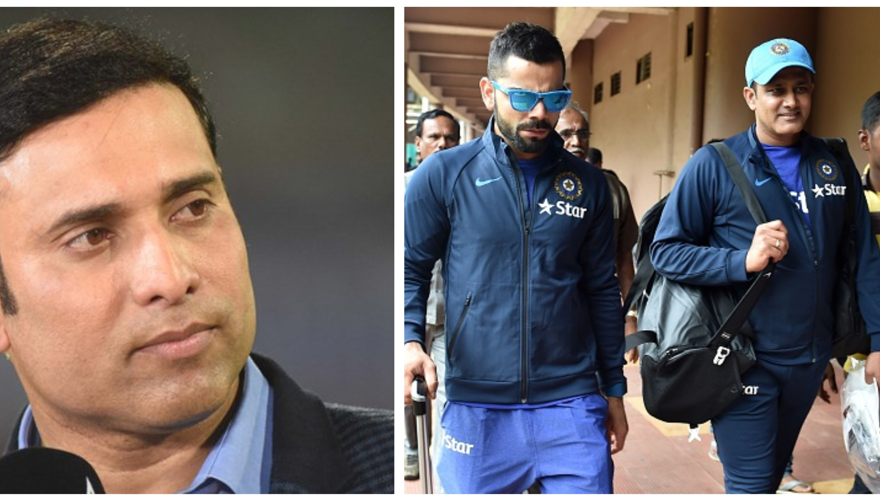 CAC didn't sack Kumble, there was an issue with Virat: VVS Laxman