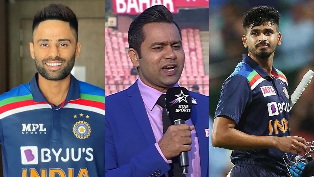 Shreyas Iyer or Suryakumar Yadav - Aakash Chopra says tough call for India's no.4 spot for T20 World Cup