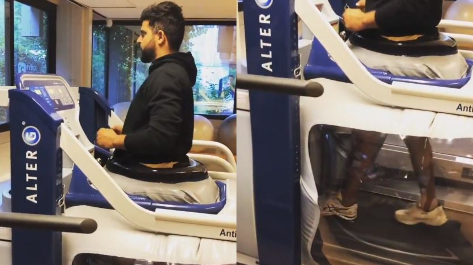 WATCH - Suresh Raina takes his first steps post knee surgery