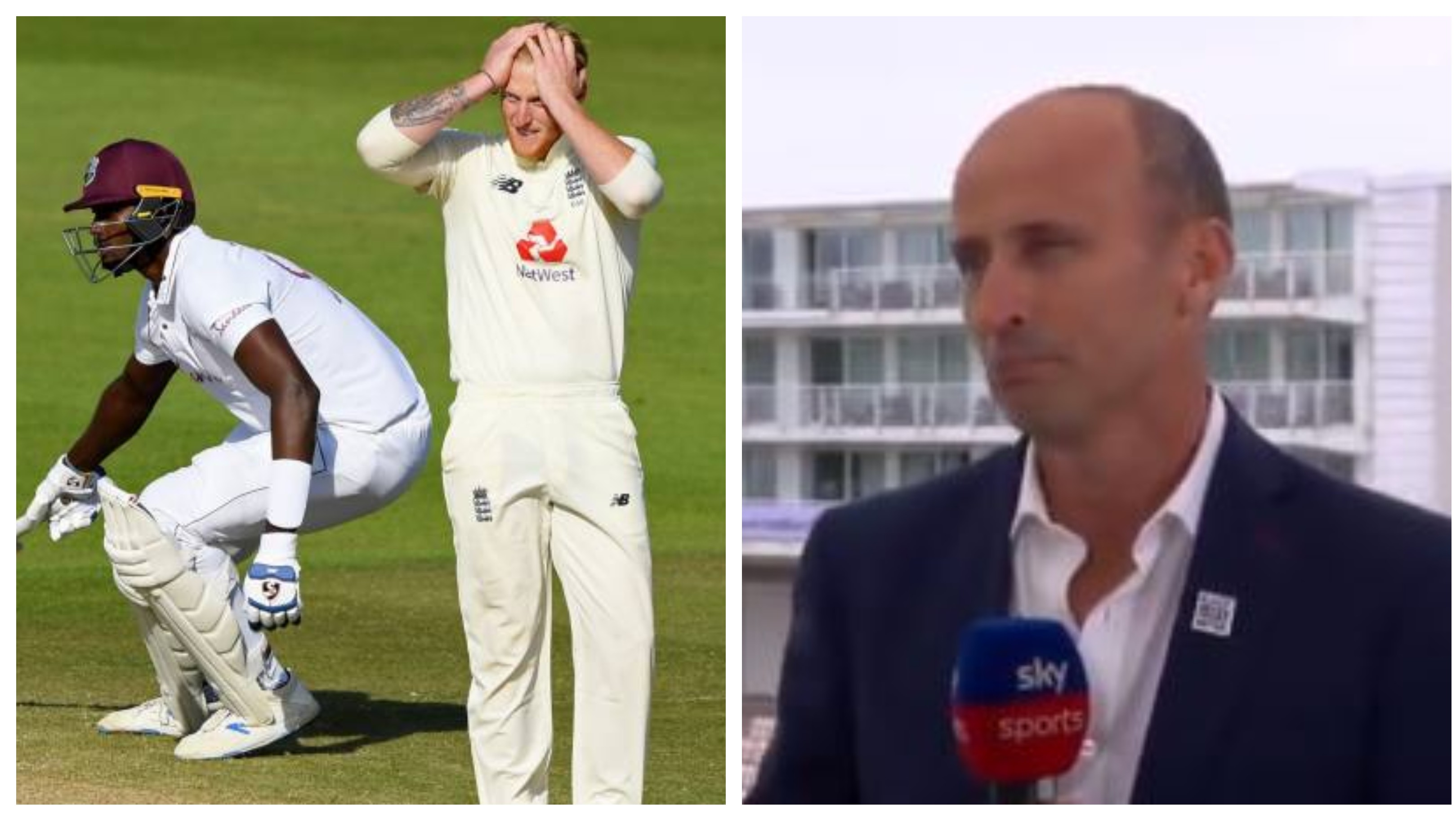 ENG v WI 2020: Batting let England down in first Test, not Stokes' decision-making, says Nasser Hussain