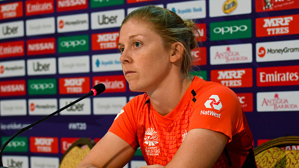 Women's WT20 2018: Heather Knight praises inexperienced members of the side despite England's loss in the final