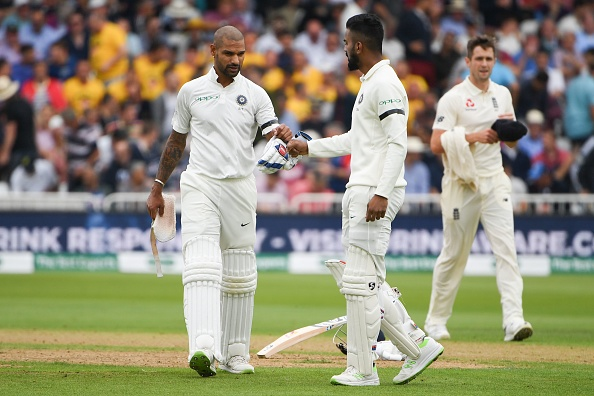 KL Rahul and Shikhar Dhawan added 60 runs each for opening wicket in both innings of 3rd Test | Getty