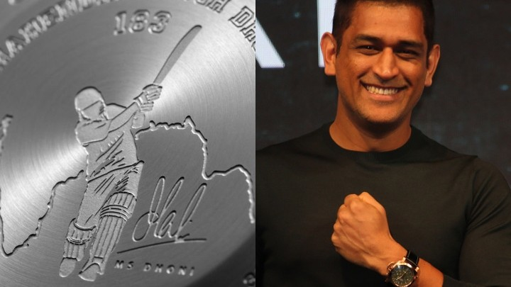 Panerai India honors MS Dhoni with two limited edition watches
