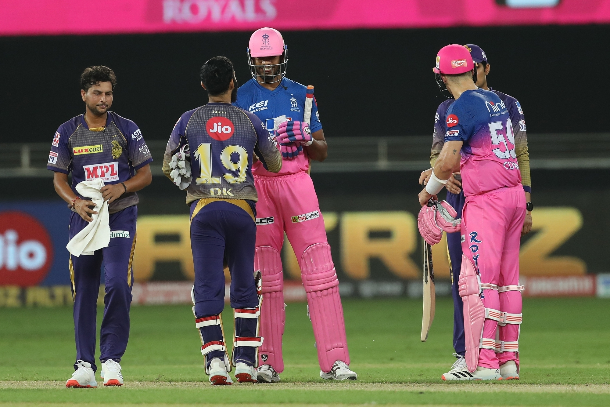 KKR defeated RR in their last match | IANS
