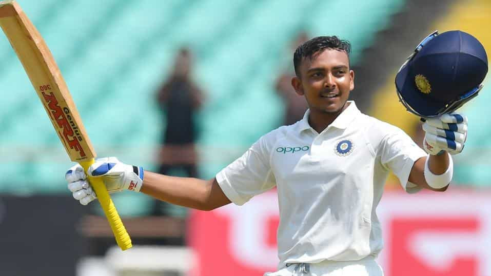 IND v WI 2018: 1st Test, Day 1 – Prithvi Shaw's amazing debut century puts India ahead with 364/4