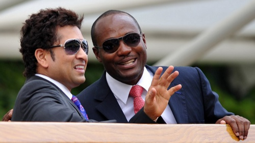 WATCH: Dwayne Bravo picks his all time favorite between Sachin Tendulkar and Brian Lara