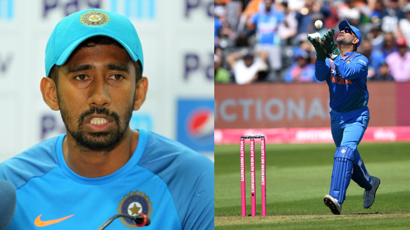Wriddhiman Saha tells how to be in contention when someone like MS Dhoni dominates an era