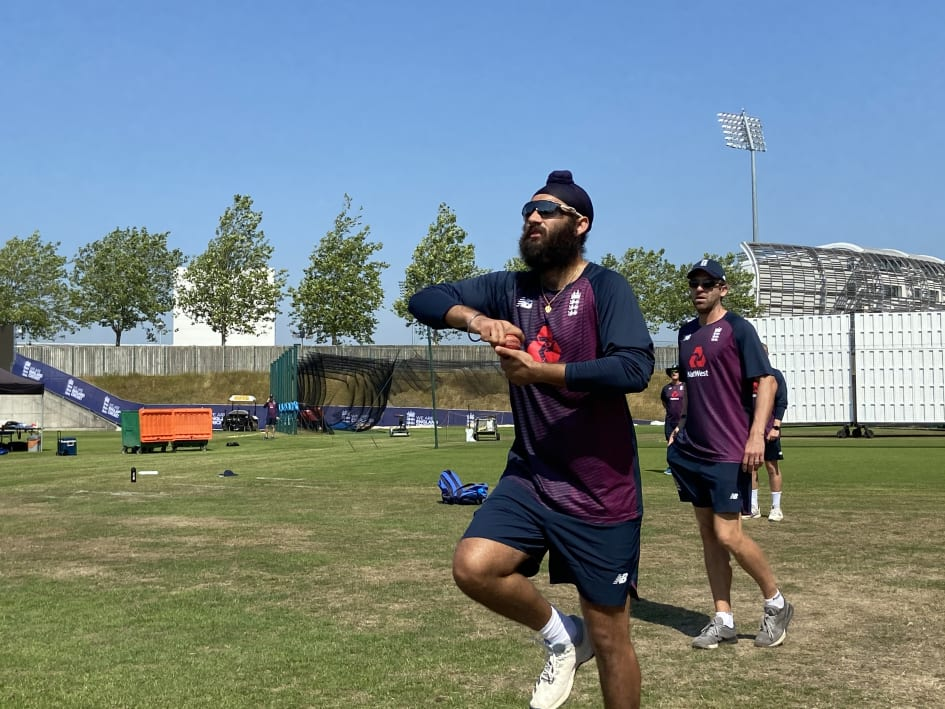 Virdi is currently training with England squad at the Ages Bowl   AFP