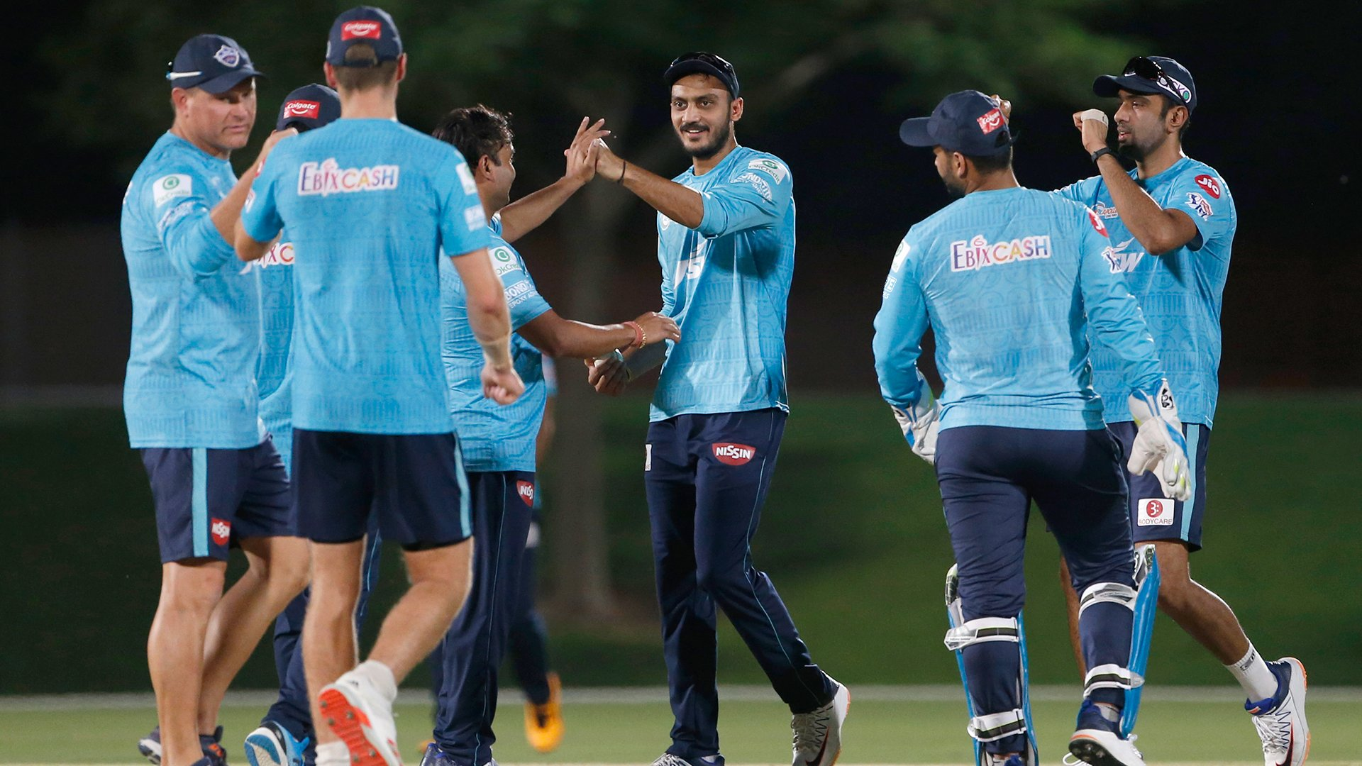 Delhi Capitals recently played intra-squad warm-up game | DC Twitter