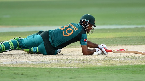 Asia Cup 2018: Twitter makes fun of Fakhar Zaman over his ugly dismissal against India