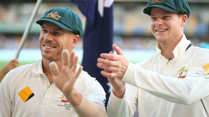 Steve Smith and David Warner likely to play on Australian soil