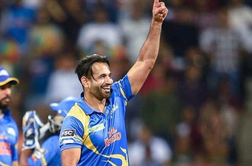 Irfan Pathan played for India Legends in Road Safety World Series