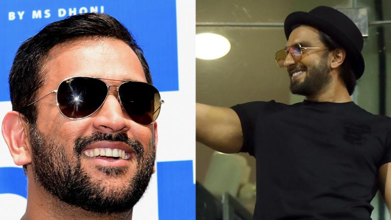 IRE v IND 2018: Ranveer Singh gives MS Dhoni the tag of 'King of Versatility'