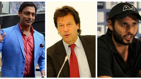 Pakistani cricket fraternity congratulates Imran Khan as he emerges as leader in PM elections