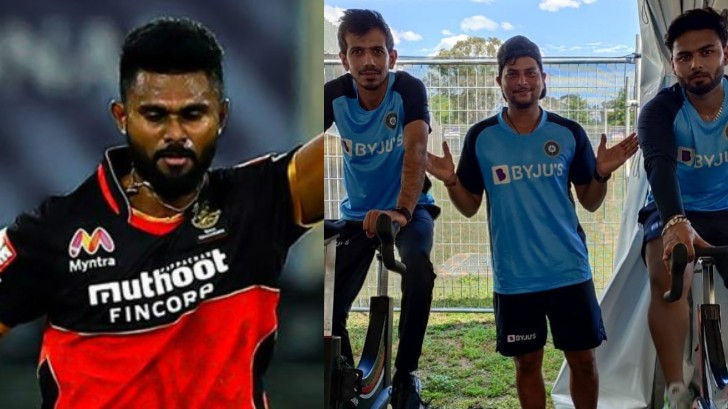 AUS v IND 2020-21: Udana posts cheeky comment on Chahal's picture with Kuldeep and Pant