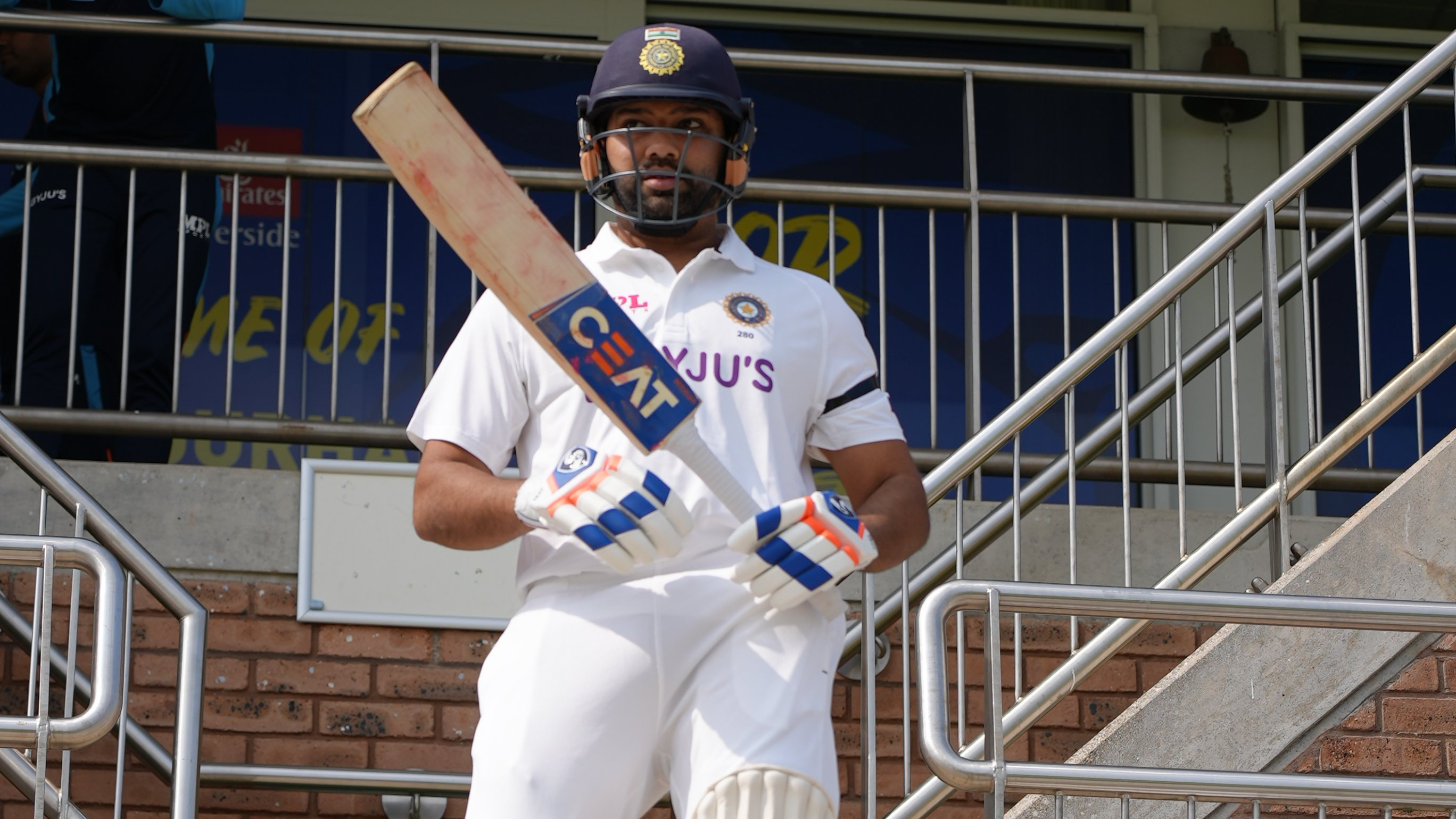 Indian players sport black armbands in honour of late Yashpal Sharma in warm-up game