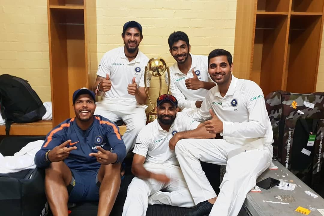 Rahane lauded the Indian fast bowling unit for their performance the last time
