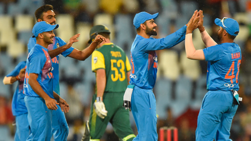 SA v IND 2018: Indian cricketers credit whole team for the T20I series win