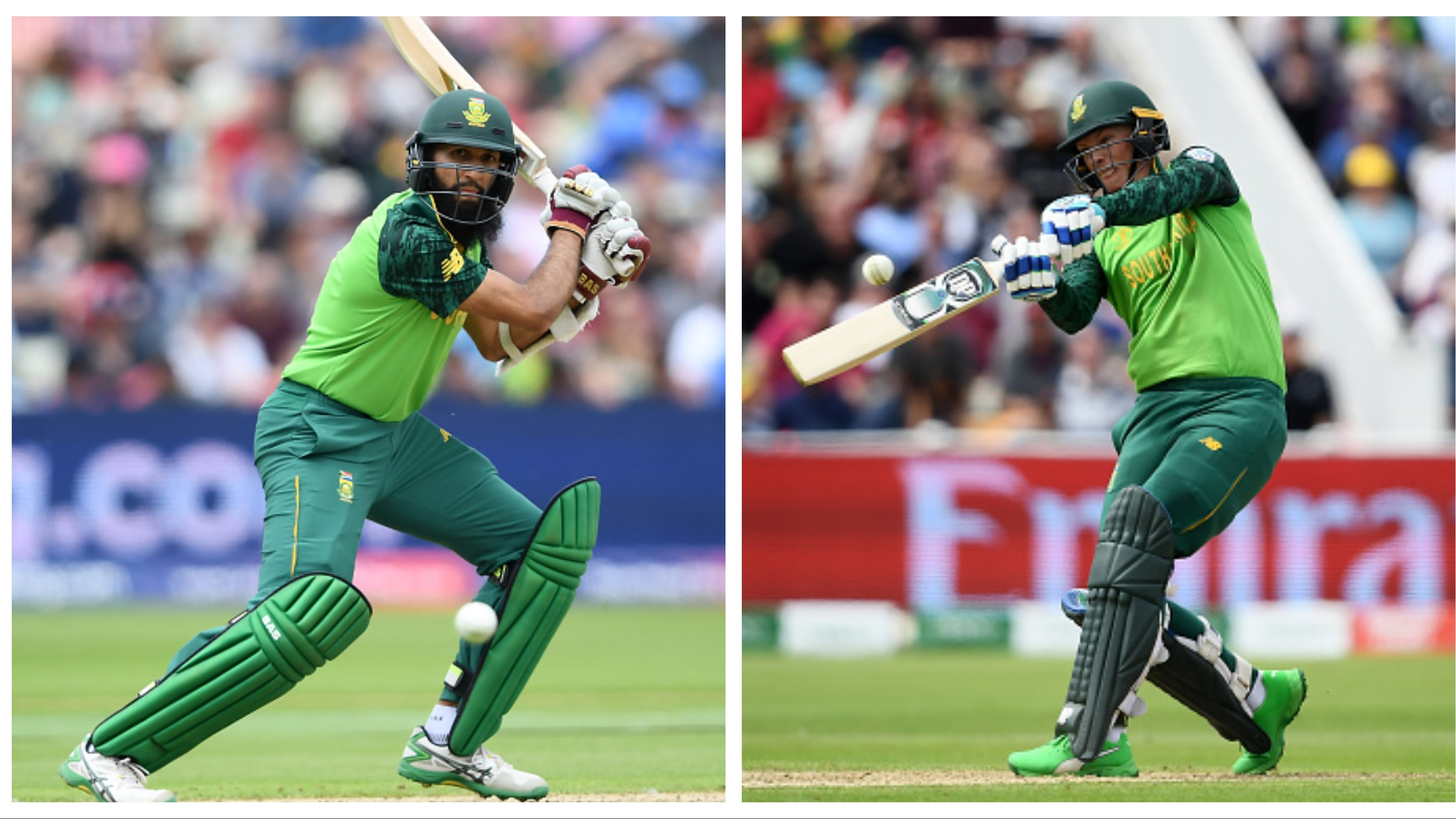 CWC 2019: NZ v SA - Fifties from Hashim Amla and Van der Dussen allow Proteas to post 241/6