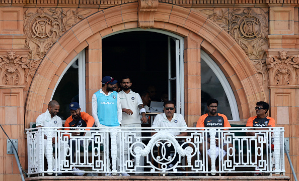 Indian Cricket Team in Lord's balcony | GETTY