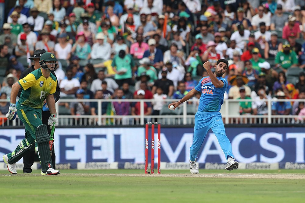 Bhuvneshwar Kumar became the first Indian bowler to claim 5-wicket haul across all formats | BCCI