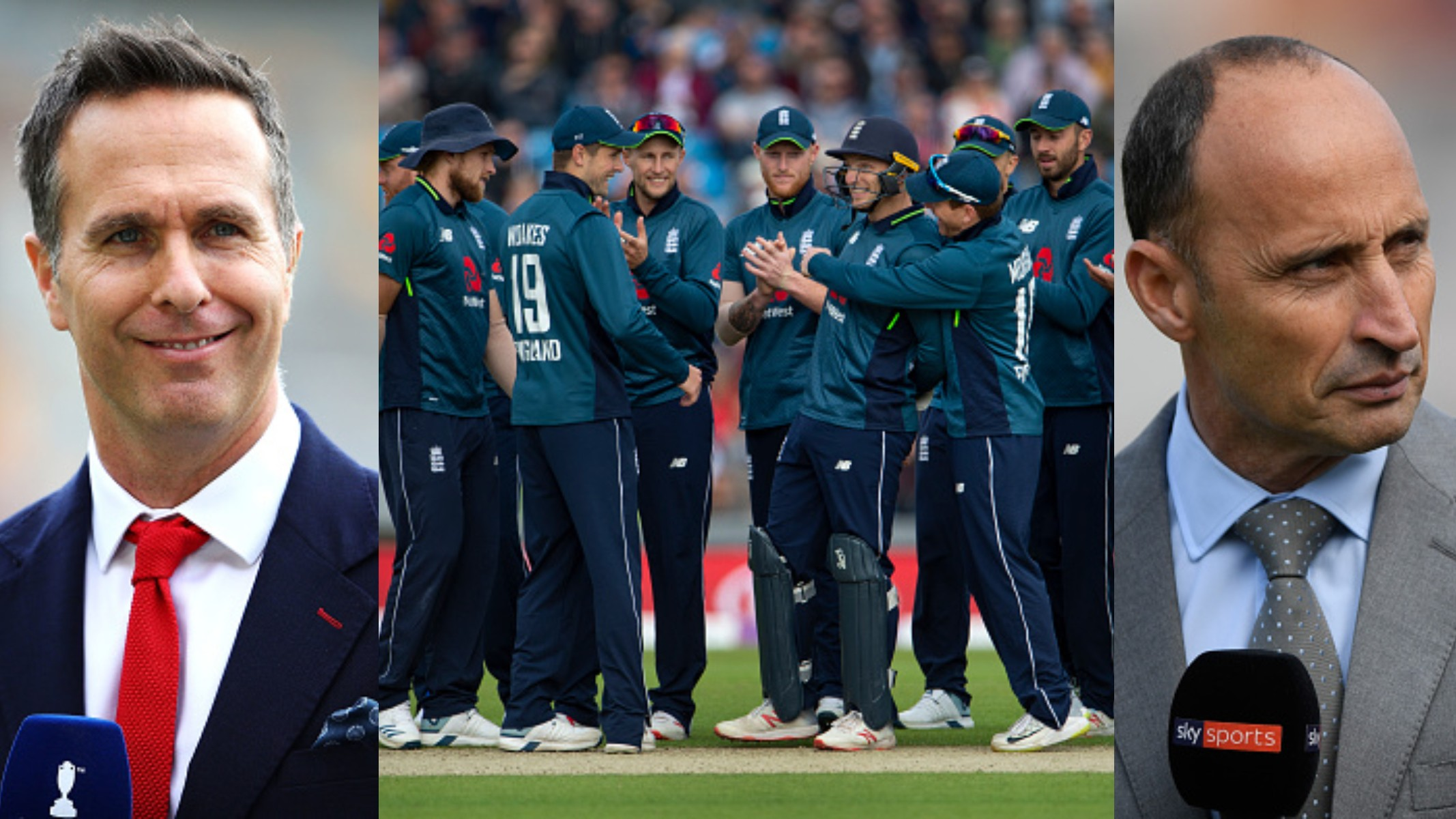 CWC 2019: Michael Vaughan and Nasser Hussain back the selected England squad to win the World Cup