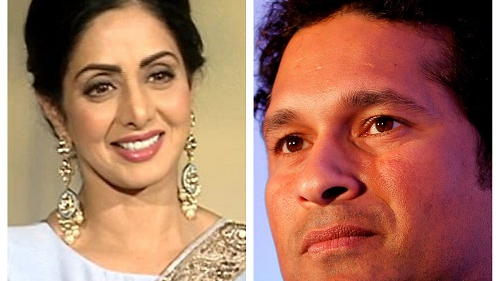 Sachin Tendulkar expresses his condolence over Sridevi's demise