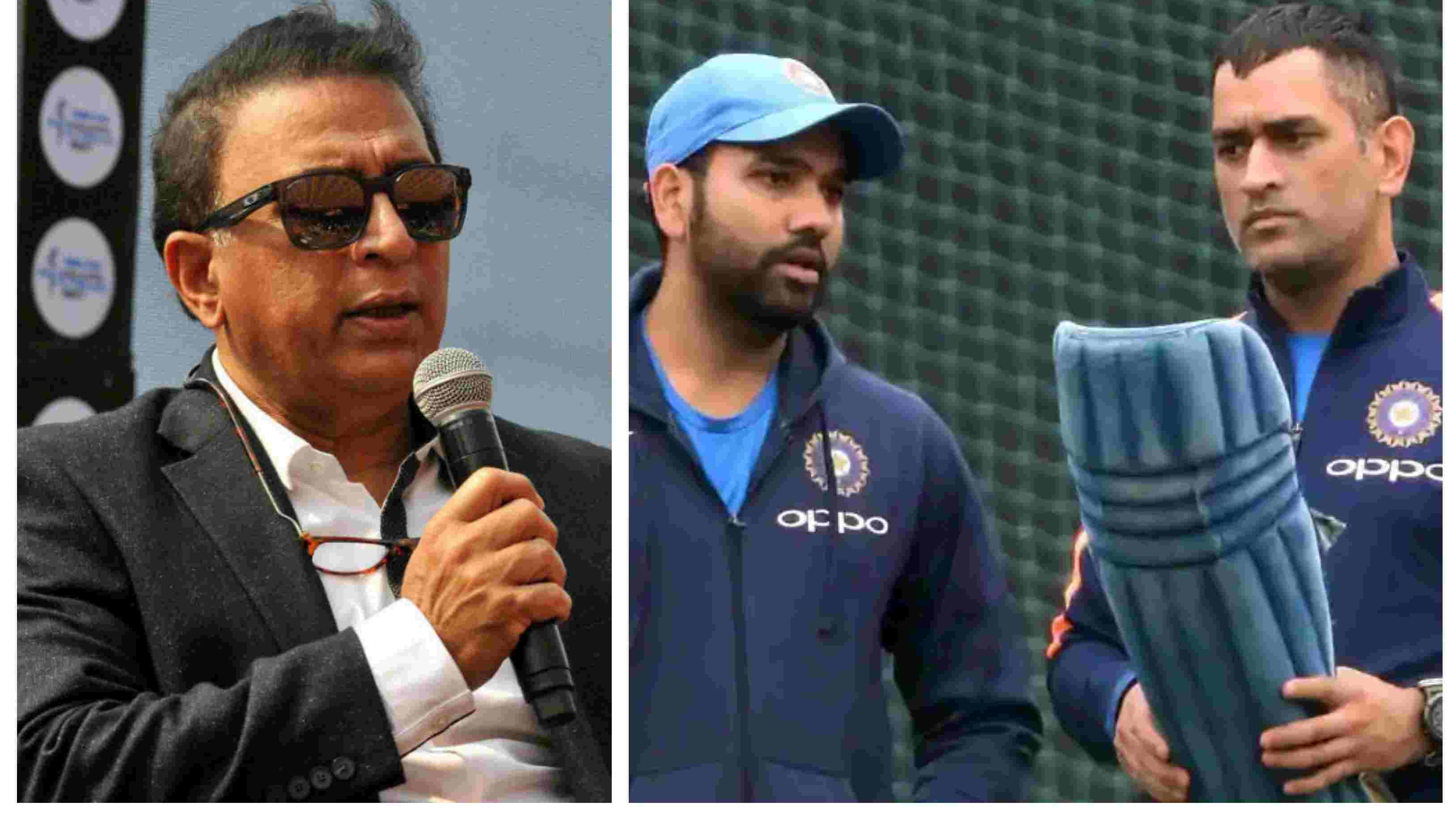 ASIA CUP 2018: MS Dhoni's presence is a big boost for captain Rohit Sharma, says Sunil Gavaskar