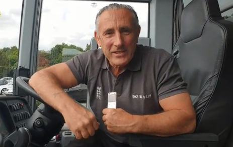 Team India's bus driver Jeff Goodwin | Screengrab
